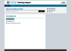 support.timeforge.com