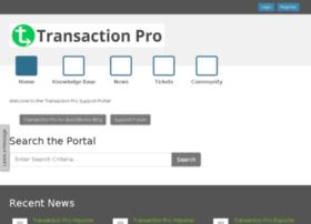 support.transactionpro.com