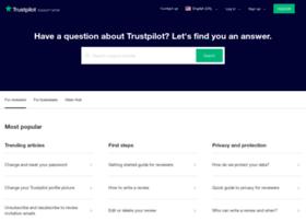 support.trustpilot.com