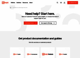 support.uipath.com