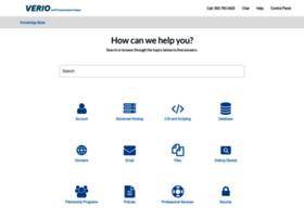 support.verio.com
