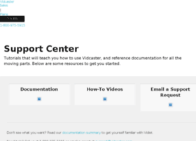 support.vidcaster.com
