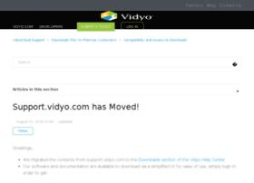 support.vidyo.com