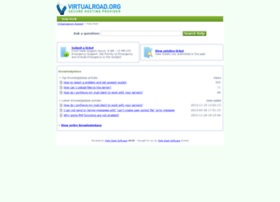 support.virtualroad.org