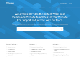 support.w3layouts.com