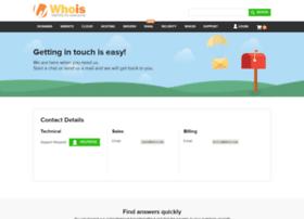 support.whois.com