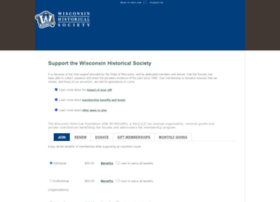 support.wisconsinhistory.org