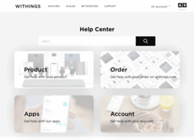 support.withings.com
