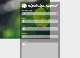 support.wizedesign.com