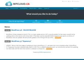 support.wpcloud.ca