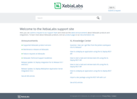 support.xebialabs.com