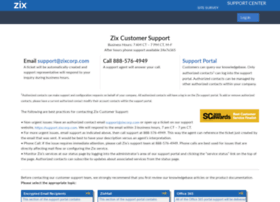 support.zixcorp.com