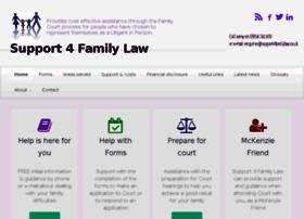 support4familylaw.co.uk