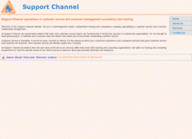 supportchannel.co.uk