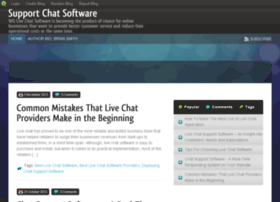 Supportchatsoftware.blog.com