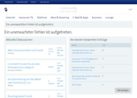 supportcommunity.swisscom.ch
