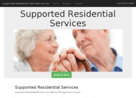 supportedresidentialservices.com.au
