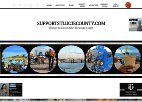 supportstluciecounty.com