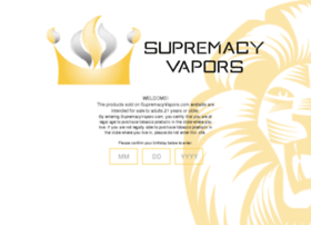 supremacyvapors.com