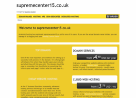 supremecenter15.co.uk