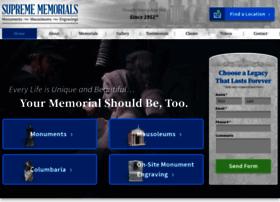 supremememorials.com