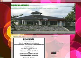 suraualikhlas-sgbuaya.blogspot.com