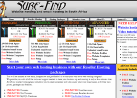 sure-find-webhosting.co.za