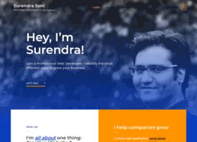 surendrasoni.com