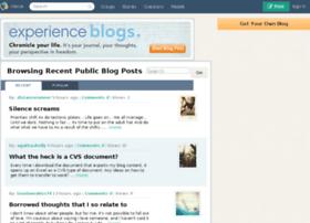 surf.barrettooik.blogs.experienceproject.com