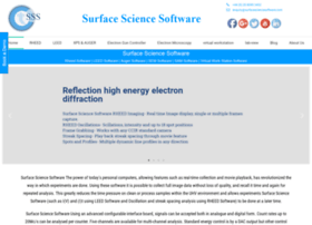 surfacesciencesoftware.com