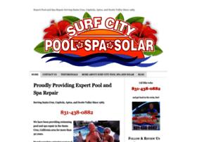 surfcitypoolspaandsolar.com