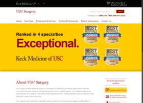 surgery.usc.edu