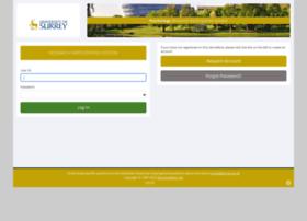 surrey-uk.sona-systems.com