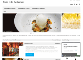 surryhillsrestaurants.com.au
