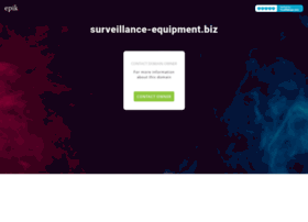 surveillance-equipment.biz