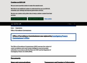 surveillancecommissioners.gov.uk