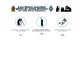 survey.gov.lk