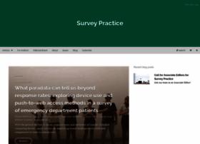 surveypractice.org
