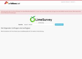 surveys.e-fellows.net