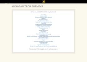 surveys.mtu.edu