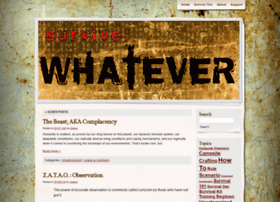 survivewhatever.com