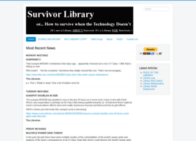 survivorlibrary.com