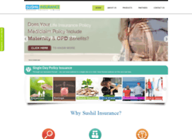 sushilinsurance.com