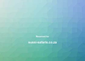 sussi-safaris.co.za