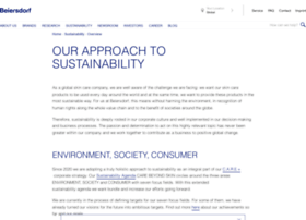 Sustainability.beiersdorf.com
