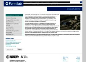 sustainability.fnal.gov