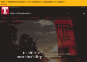 sustainability.temple.edu