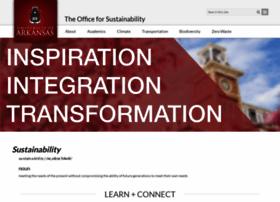 sustainability.uark.edu