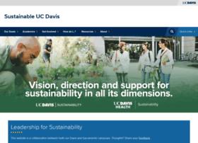 sustainability.ucdavis.edu