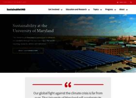 sustainability.umd.edu